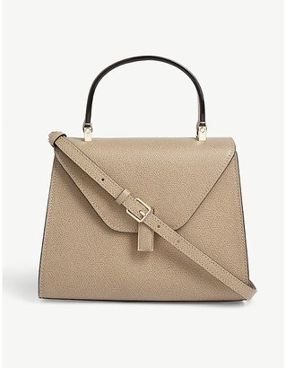 Valextra Iside mini leather tote