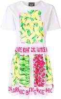 Moschino lemon print dress
