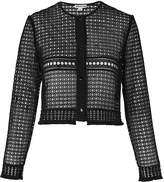 Whistles Lace Button Up Jacket