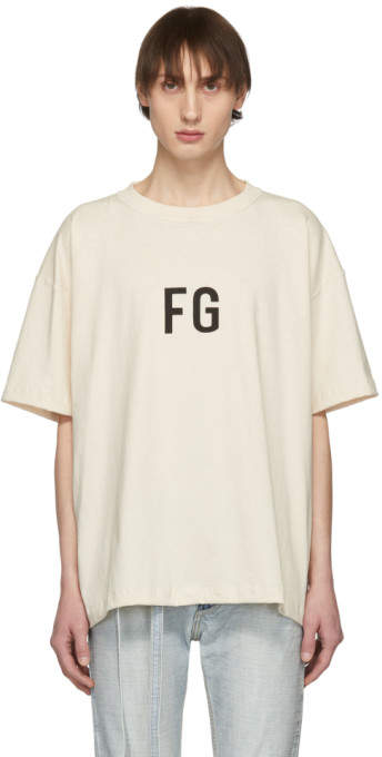 Fear Of God SSENSE Exclusive Off-White FG T-Shirt