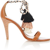Ulla Johnson Women's Reina Tassel-Tie Sandals-BROWN