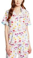 Cyberjammies Women's Tropical Botanics Pyjama Top,38 (EU)
