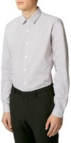 Topman Men's Slim Fit Pin Dot Shirt