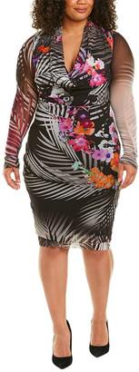 Fuzzi Plus Midi Dress