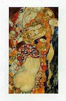 Gustav 1art1 Posters Klimt Poster Art Print - Die Braut (Detail) (32 x 24 inches)
