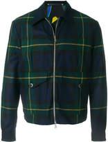 Paul Smith plaid lightweight jacket