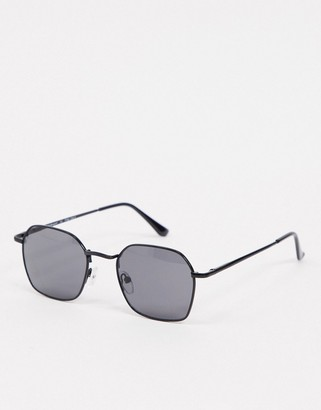 A. J. Morgan AJ Morgan Ringside oversized sunglasses in black