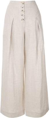 SUBOO high-waisted palazzo pants