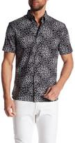 Perry Ellis Short Sleeve Printed Regular Fit Shirt