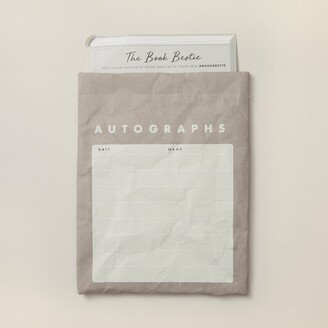 Indigo Paper The Book Bestie - Autograph Book Sleeve