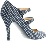 J.Crew Mona dotted Mary Janes