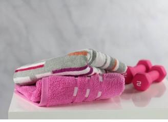Fuse Sport 2-Piece Gym Towel Set, Pink