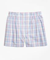 Brooks Brothers Slim Fit Multi Check Boxers