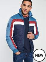 Pretty Green Pretty Green Quilted Zip Through Jacket