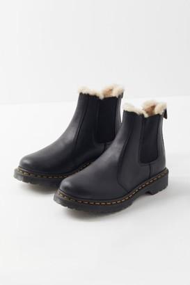 Dr. Martens 2976 Leonore Faux Fur-Lined Chelsea Boot