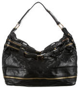 Rebecca Minkoff Zipper-Embellished Leather Hobo