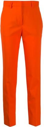 MSGM High-Rise Slim-Fit Trousers