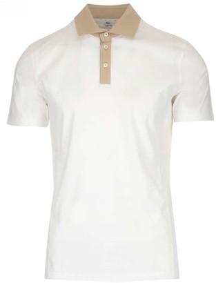 Brunello Cucinelli Contrast Trimmed Polo Shirt
