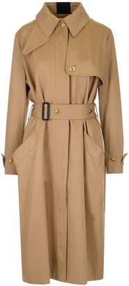 Givenchy Belted Back Stripe Trench Coat