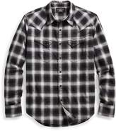 Ralph Lauren Plaid Cotton Western Shirt