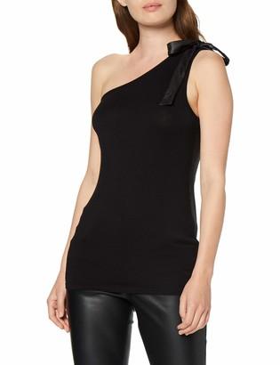 Spiral Direct Women's Gothic Elegance-Assymetrical Tie Vest Top