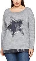 Via Appia Women's Rundhals 1/1 Arm Motiv T-Shirt