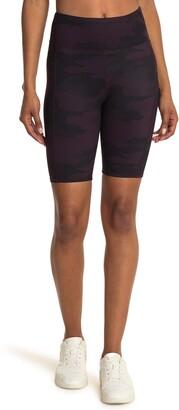 Threads 4 Thought Devi Camo Print Biker Shorts
