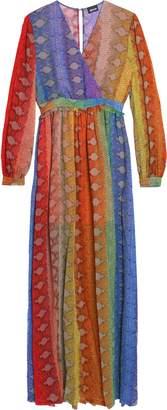 Just Cavalli Printed Crepe Gown
