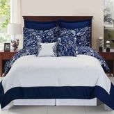 Bed Bath & Beyond Enzo Reversible Comforter Set in Navy/White