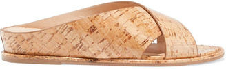 Gabriela Hearst Ellington Cork Slides