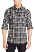 Jack Spade Men's Linfield Herringbone Check Work Shirt