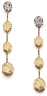 Marco Bicego Siviglia Diamond & 18K Yellow Gold Drop Earrings
