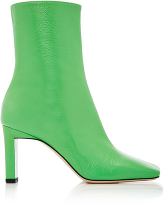 Wandler Isa Goat Leather Ankle Boots
