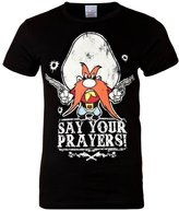 Logoshirt Looney Tunes Say Your Prayers Print Tshirt Black