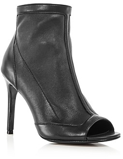 Charles David Women's Courter Peep Toe High-Heel Booties