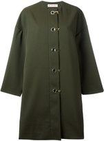 Marni duster coat - women - Silk/Polyamide/Spandex/Elastane - 40
