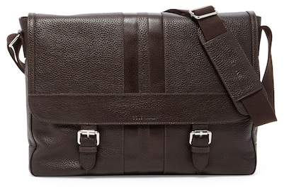 Cole Haan Leather Messenger Bag