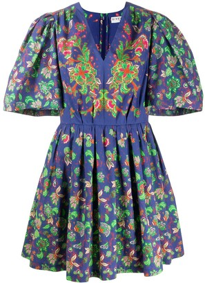 Givenchy Floral Print Dress