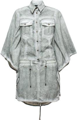 Mr & Mrs Italy Parachute Viscose Cotton Midi Dress