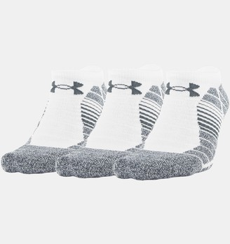 Under Armour Men's UA Elevated Performance No Show 3-Pack Socks