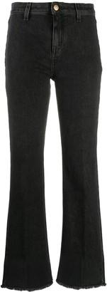 L'Autre Chose High-Rise Flared Jeans