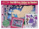 Melissa & Doug Peel and Press Sticker by Number Kit: Mystical Unicorn - 100+ StickersJumbo Frame