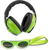 BaBy BanZ BB663 Mini Earmuffs Protection Set-, Green