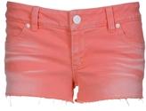 Neon Coral Shorts