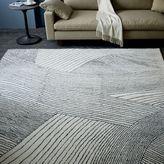 Ribbon Waves Wool Rug