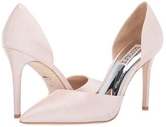 Badgley Mischka Lola (Light Pink Indian Silk) High Heels