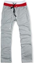 ODIAL(R) Men Caualportweat Pant Harem Training Dance Baggy Jogging Trouerlack