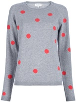 Chinti And Parker Polka Dot Sweater