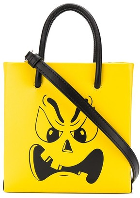 Moschino Phantom face tote
