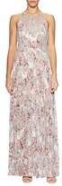 BCBGMAXAZRIA Floral Printed Maxi Dress